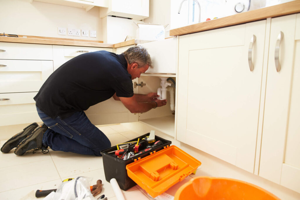 montgomery county property manager repairing home